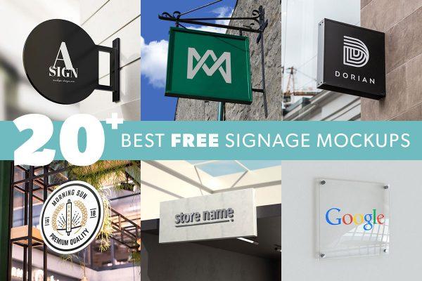 Best-free-signage-mockups-featured-image