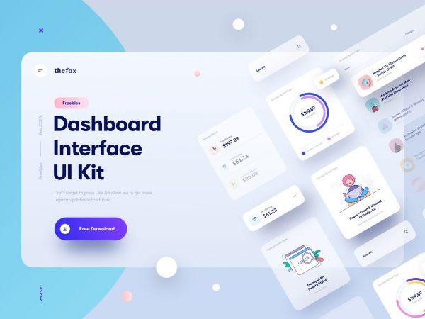 Dashboard-interface-elements-freebie-jpg