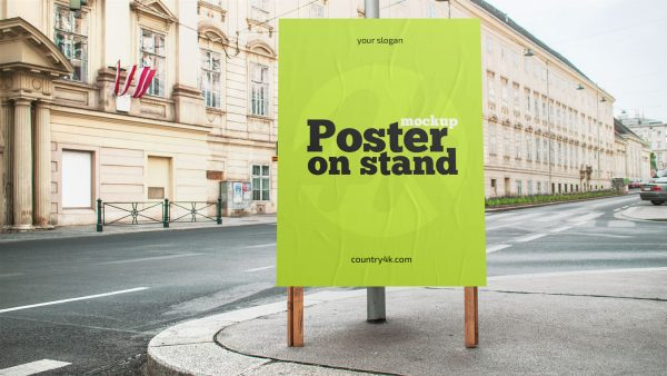 Free-street-sidewalk-poster-on-stand-mockup-preview