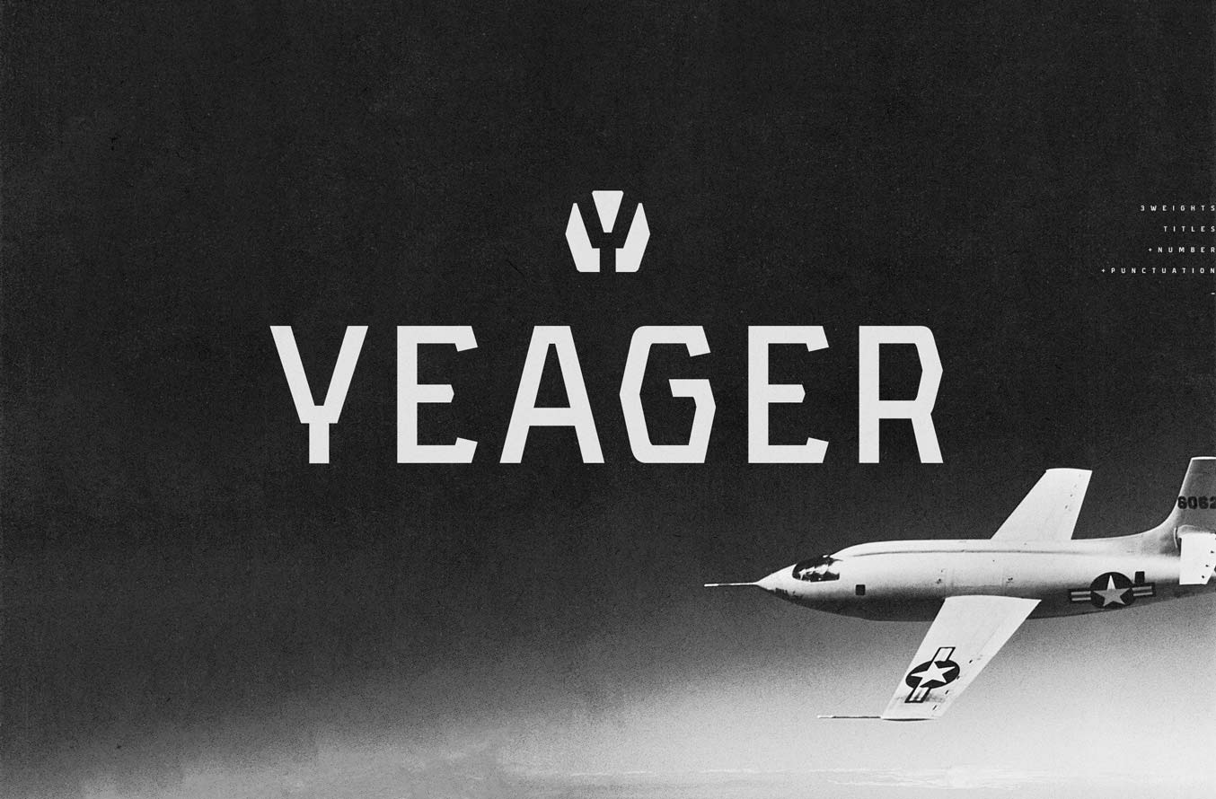 Yeager-free-sans-serif-display-typeface-featured-img